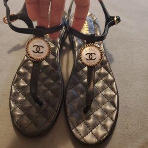 Thong Sandals sz 36 / 6